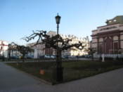 Square opposite the Opera and Ballet Theatre