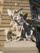 Statue on the Opera and Ballet Theatre