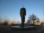 Statue in Shevchenko Park