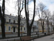 Along Prymorsky Bulevard