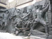 Statues at the Great Patriotic War Museum