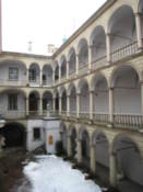 Courtyard of Lviv History Museum