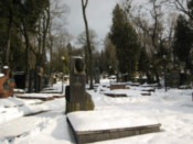 Inside the Lychakivskiy Cemetery