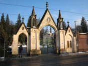 Entrance to the Lychakivskiy Cemetery