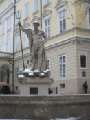 Statue on Rynok Square