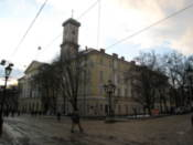Town Hall on Rynok Square