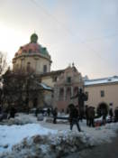 Book market and Assumption Cathedral