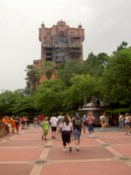 The Tower of Terror - the one ride that I gave a miss at MGM