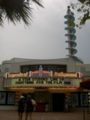 An immitation of a Hollywood theatre